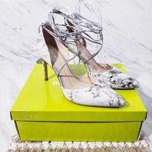 Gianni Bini Edda Marble Heels